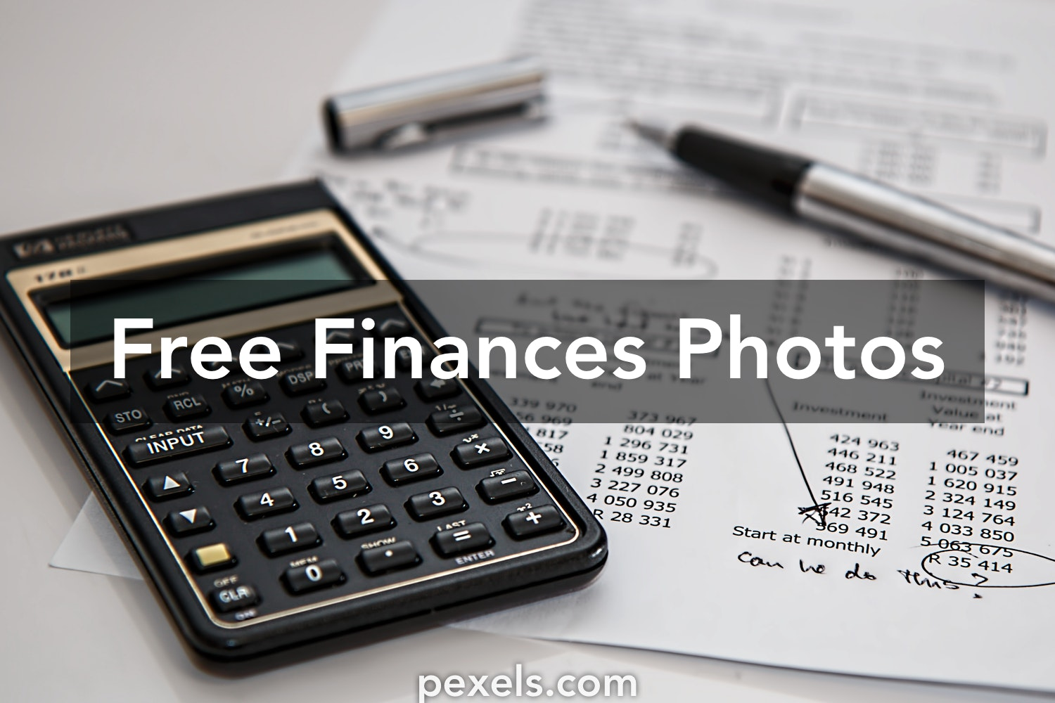 Free stock photos of finances · Pexels